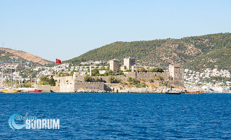 Bodrum Castle from the sea