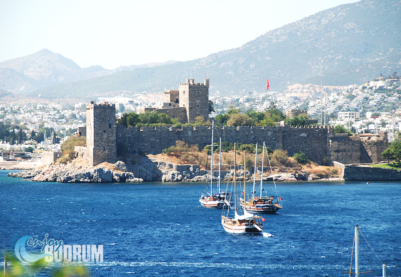 Bodrum Castle over the Blue Aegean Waters