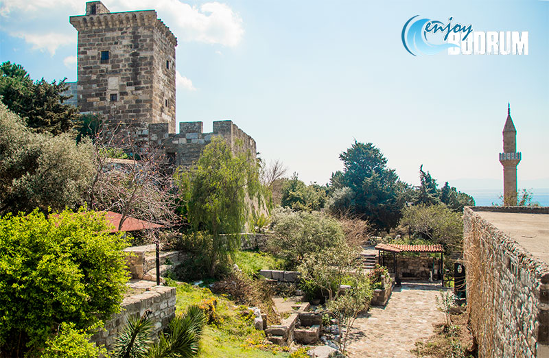 Inner court of the Bodrum Castle