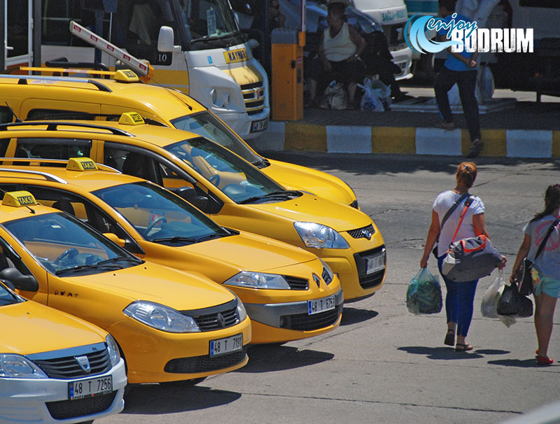 Taxis in Bodrum