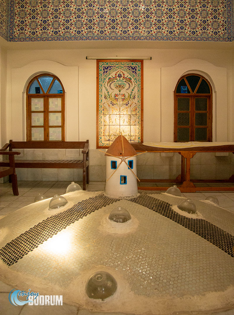 Cooling room of the Bodrum Hamami