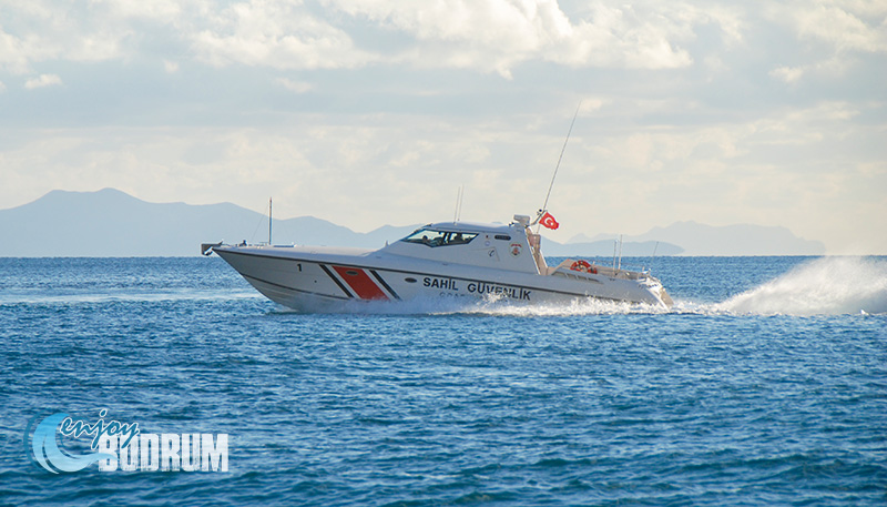 Coast guard in Bodrum
