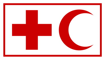 Red crescent and red cross